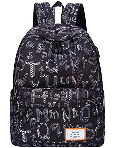 Mygreen Casual Lightweight Backpack Daypack