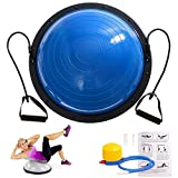 Cheap SHZOND 23″ Yoga Balance Ball Yoga Fitness Strength Exercise Workout Sport Balance Trainer