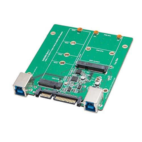 Syba 2.5-inch SATA to mSATA SSD Adapter, Use as External USB 2.0 Storage Device (SD-ADA40077) by Syba (Image #9)