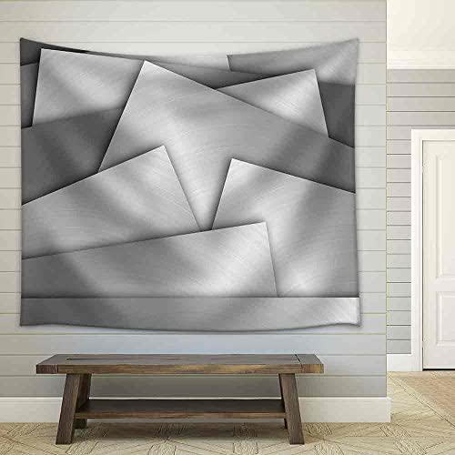 Metal Texture Fabric Wall