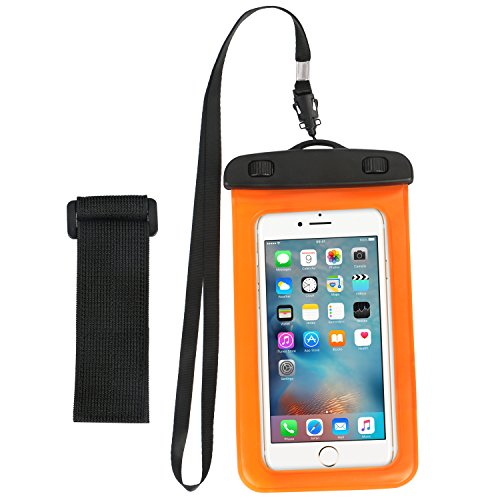 the latest 30159 bc9df Universal Waterproof Case, Cell Phone Dry Bag Pouch with - Import It All