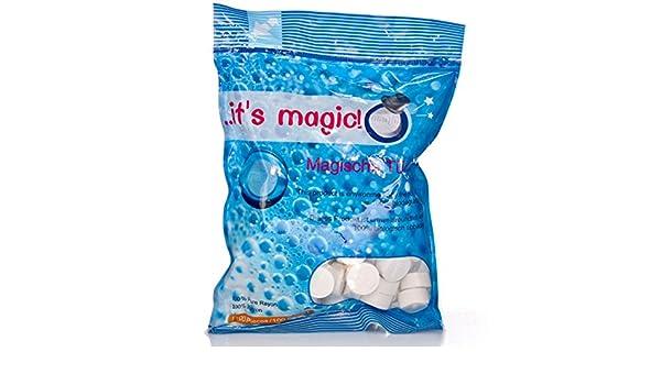 Toallas mágicas/ ... Its Magic! Tabletas toallas biológicamente 100 grifos: Amazon.es: Hogar