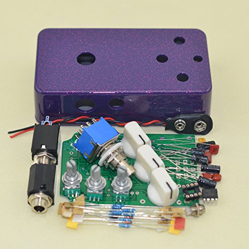 DIY(DS-2)Distortion pedal Flash violet metal Distortion Pedal TTONE