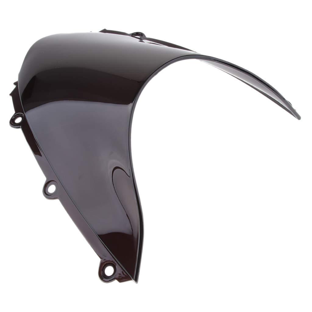 Schwarz IPOTCH 40 x 35 cm Motorrad Windschutzscheiben-Verkleidungs-f/ür Honda CBR1000RR 2004-2007 Montagesatz