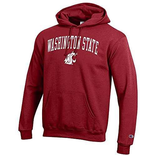 Washington State University Clothing (Washington State Cougars Hooded Sweatshirt Crimson -)