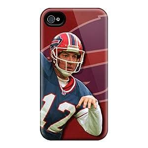 EricHowe Iphone 4/4s Best Cell-phone Hard Covers Custom High-definition Buffalo Bills Image [ZiI428FLVH]