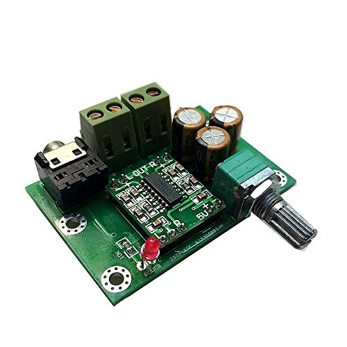 USB DC5V Power Input 2 Channel Amplifier Class D Stereo Audio Amp Board 5W x 2 for Home shelf system DIY Kits