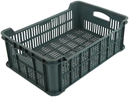 5 x plástico fruta de 15 kg verdura fruta de pila de caja de almacenamiento caja de caja: Amazon.es: Bricolaje y herramientas