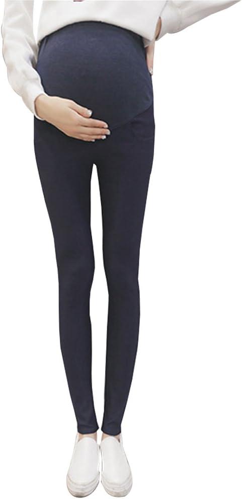 XFentech Pantalones de Maternidad Leggings High Elasticity Pantalones