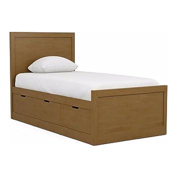Ethan Allen | Disney Carolwood Twin Storage Bed Toffee  sc 1 st  Amazon.com & Amazon.com: Ethan Allen | Disney Carolwood Twin Storage Bed Toffee ...