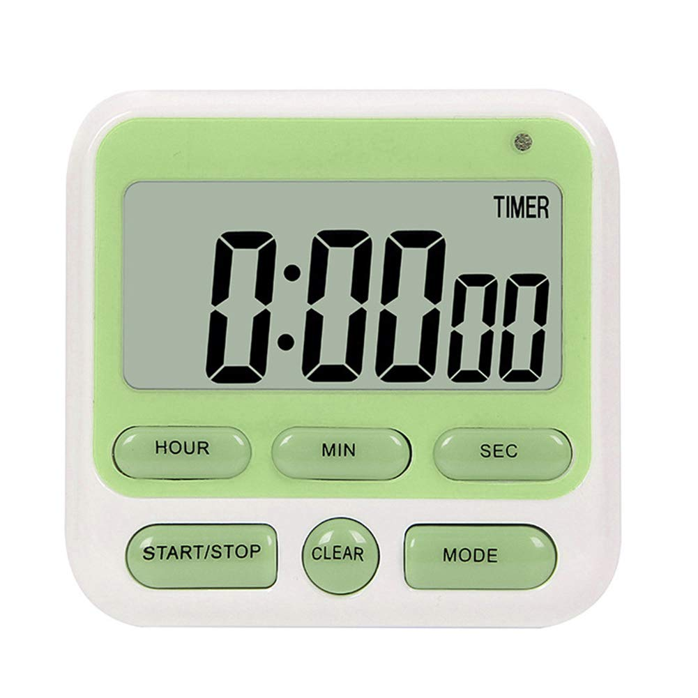 Kitchen Tool Cooking Supplies Home Silent Electronic Timer Portable LCD Digital