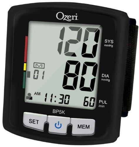 Ozeri BP5K moniteur numérique de tension artérielle avec guidage vocal de positionnement et d'hypertension artérielle Indicateur