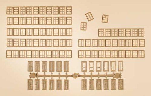 Auhagen 48650 Mullion Windows/Doors Modelling Kit (Mullion Doors)