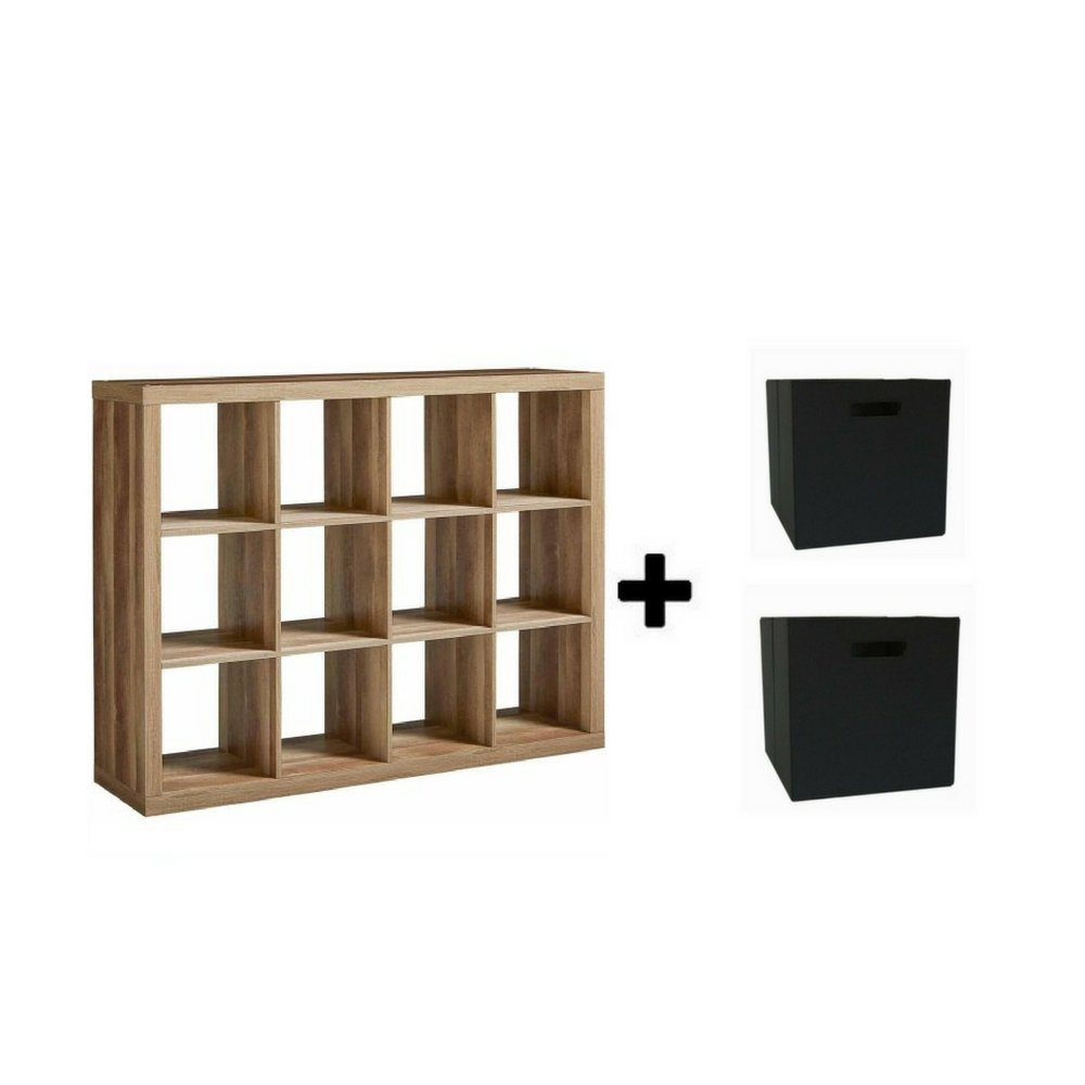 Better Homes and GardensBH15-084-199-09 12-Cube Organizer, (Weatherd with cube Bin)