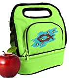 Christian Lunch Bag Cooler Christian Lunchbox with 2 Sections!
