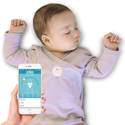 Baby Monitor For Breathing & Movement (White)