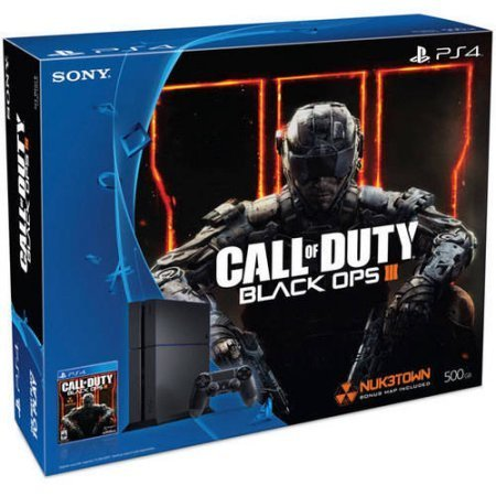 Sony PlayStation 4 (PS4) Console Bundle with Call of Duty Black Ops III - Hard Drive Capacity: 500 GB by Generic