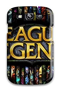 New IYBGVMs10512XTBcQ League Of Legends Skin Case Cover Shatterproof Case For Galaxy S3