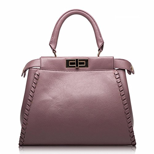 GWQGZ Moda Elegante Bolso Generoso Temperamento Generoso Solo A Través De La Bolsa De Hombro Inclinado. Gules Violet