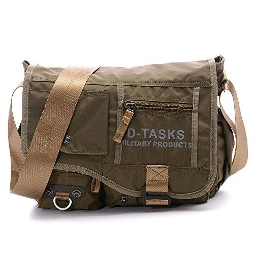 Crossbody Bag, Military Outdoor Water-Resistant Shoulder Bag Travel Messenger Bag