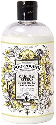 Poo-Pourri Before-You-Go Toilet Spray 16-Ounce Refill Bottle, Original Scent
