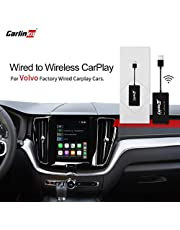 Caelinkit 2.0 Wireless CarPlay Adapter, Wired to Wireless CarPlay Function,Upgrade The System Online.