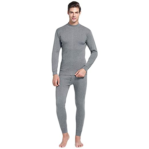 ff3cd867c Image Unavailable. Image not available for. Color: Men Thermal Underwear  Set Winter Skiing Warm Top Thermal Long Johns ...