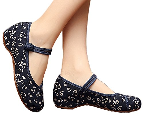 AvaCostume Womens Flower Painting Flats
