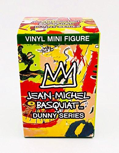 Kidrobot Figure Vinyl (Kidrobot One Blind Box Jean-Michel Basquiat Series Dunny Designer Vinyl Mini Figure)