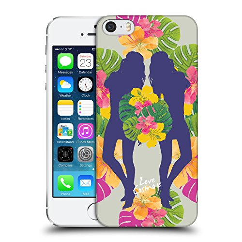 Official Cosmopolitan Mirrored Tropical Hard Back Case for Apple iPhone 5 / 5s / SE
