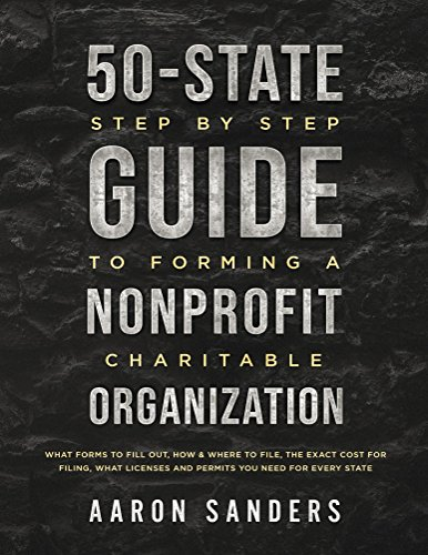 M 3 Clutch Kit - 50-State Step by Step Guide to Forming A Nonprofit Charitable Organization: What Forms To Fill Out, How & Where To File, The Exact Cost For Filing, What Licenses And Permits You Need For Each State