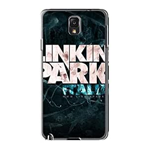 Shock-Absorbing Hard Cell-phone Cases For Samsung Galaxy Note3 With Unique Design Fashion Linkin Park Pictures SherriFakhry