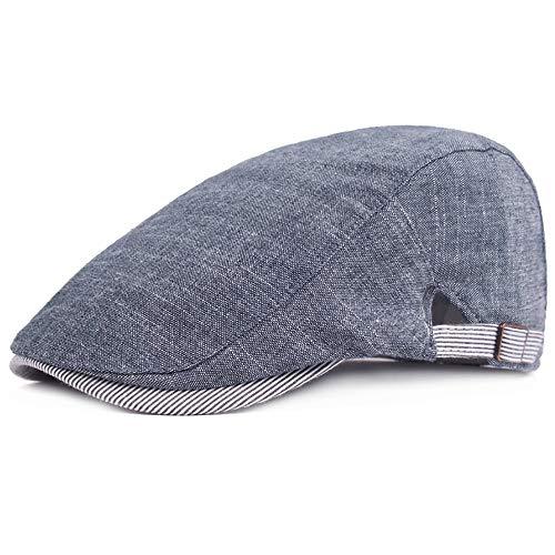 Glamorstar Men's Flat Ivy Cap Gatsby Newsboy Hat Hunting Cap Driving Hat