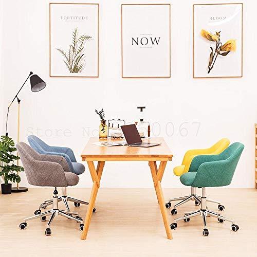 JINGXIANG Datorstol hem skrivbordsstol kan lyfta kontorsstol svängbar stol provinsiell rymdstol kreativitet skönhet och hälsa (färg: Modell 6) Modell 1
