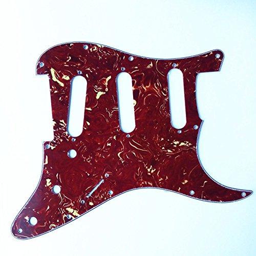 Kmise Z2270 10 x 3層アメリカンスタンダードトータスギター ピックガードスクラッチプレート フェンダーストラット交換用   B00ROYDE1C