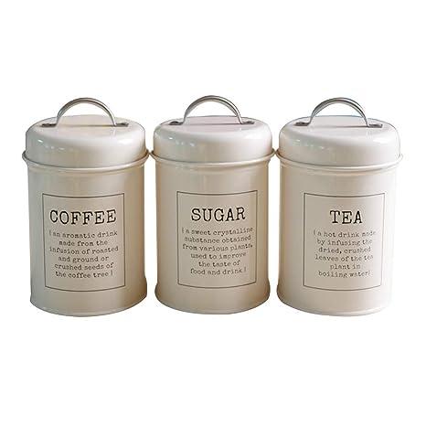 Juego de 3 depósitos de almacenamiento para bidón de té ...