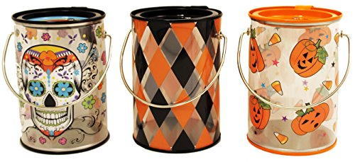 The Tin Box Company Halloween Clear Party Containers, -