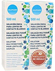SOLUPHARM solución única para lentes de contacto bote 2 x 500 ml