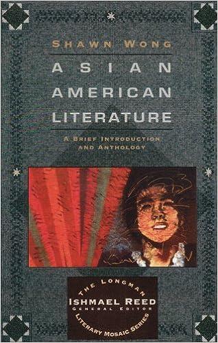 american literature anthology Asian