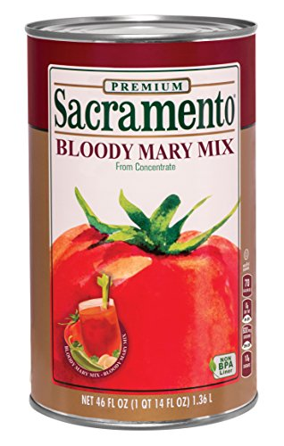 Sacramento Bloody Mary Mix, 46oz Can (Pack of 12) by Sacremento