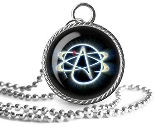 Amazon atheist necklace atheism skeptic doubter image atheist necklace atheism skeptic doubter image pendant key chain handmade aloadofball Choice Image
