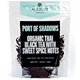 August Uncommon Loose Leaf Tea - Port of Shadows Organic Thai Black Tea with Sweet Spice Notes