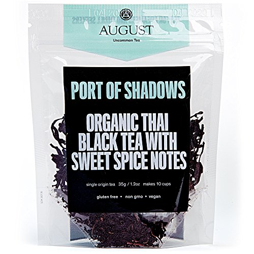 August Uncommon Loose Leaf Tea - Port of Shadows Organic Thai Black Tea with Sweet Spice Notes by August Uncommon Tea