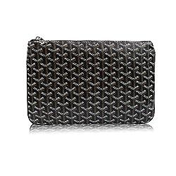 Stylesty Men S Clutch Bag Envelope Portfoli Fashion Pu Large Envelope Clutch Purse Large Black