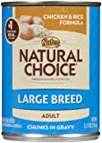 Nutro Natural Choice Large Breed Adult - Chicken & Rice - 12 x 12.5 oz