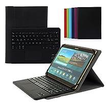 CoastaCloud Tastiera Bluetooth 3.0 QWERTY per Samsung Galaxy Tab 10.1 Pro Tablet