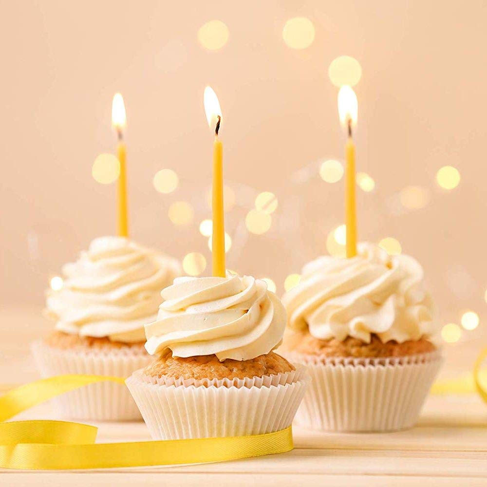 Amazon.com: BCandle – Vela de fiesta de cumpleaños de cera ...