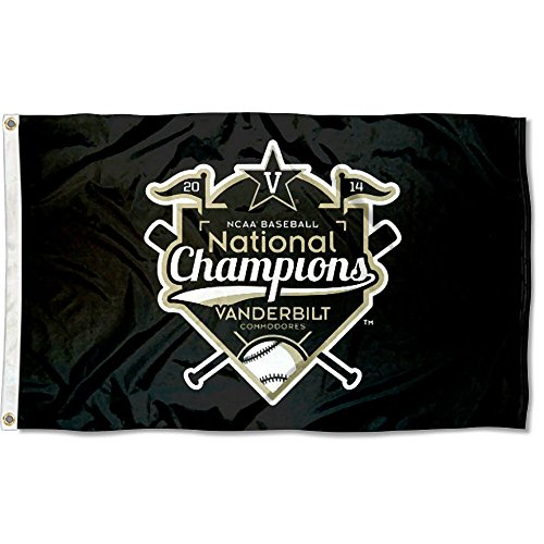 College Flags and Banners Co. Vanderbilt Commodores World Series Champs Flag