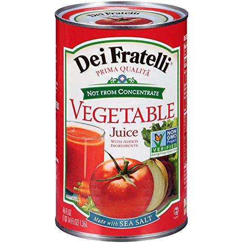 Dei Fratelli - Vegetable Juice - 46oz - 6 Pack (Dei Fratelli Tomato Juice compare prices)