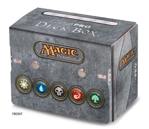 Ultra Pro Magic Mana Symbol Deck Box w/ Dual Life Counter